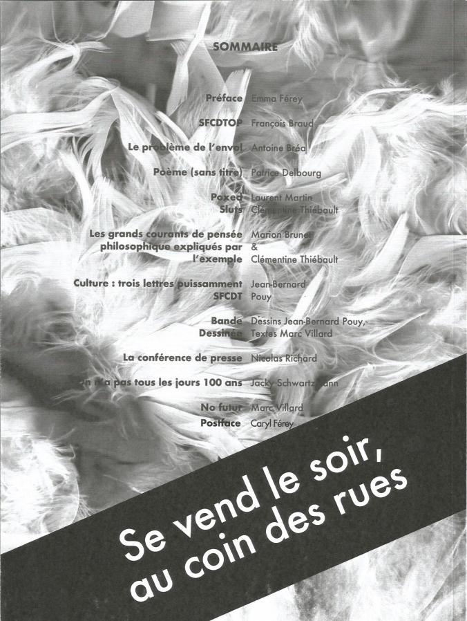 Les HN revue n°4 (verso)